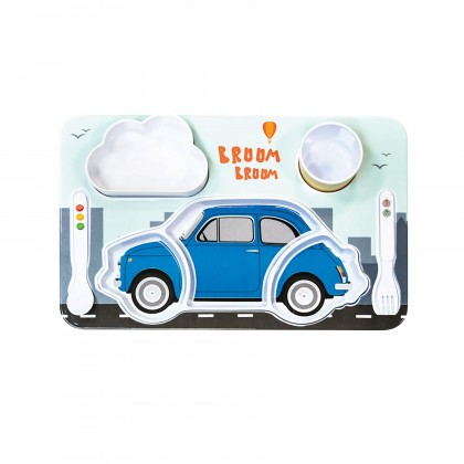 Fiat Kids Breakfast Set - Blue