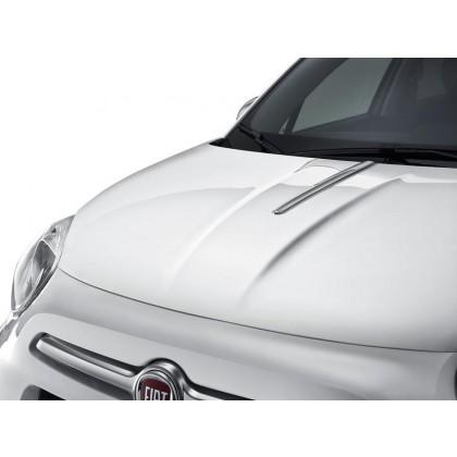 500X - Off Road Looks Bright Chromed Bonnet Line Decoration