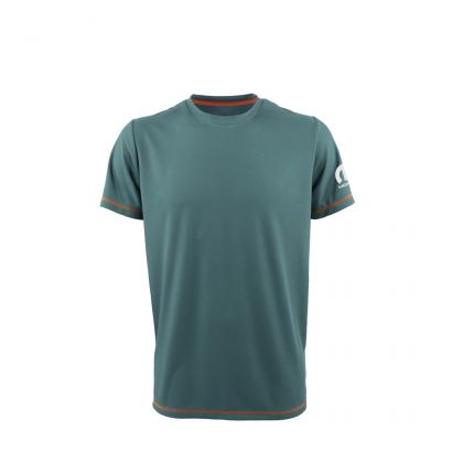 Mopar Technical Fabric Men's Grey/Ivory Short Sleeved T-Shirt