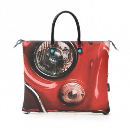 Fiat Capsule Collection Gabs Fiat 500 Front Profile Handbag/Shopper Bag