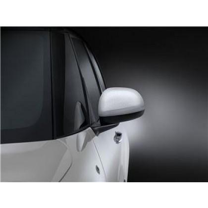500L-Trekking|500L-Estate White Mirror Covers With Technics Effects