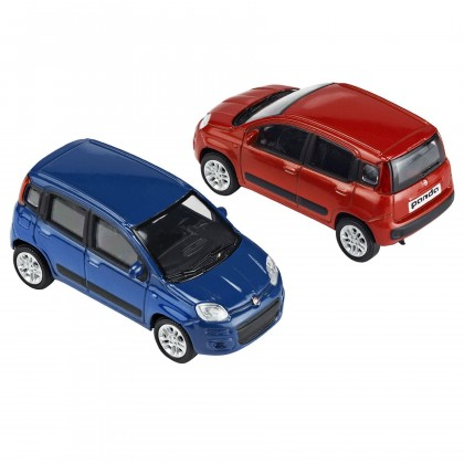 Car models Panda (set of 24)