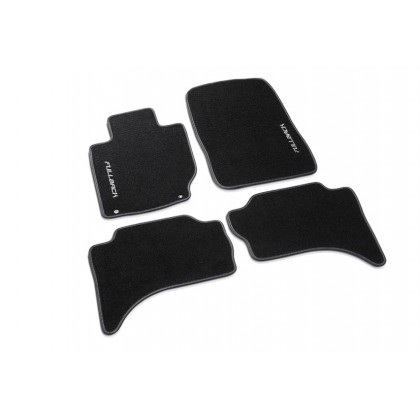 Fullback Floor mats RHD for Double Cab (f.v. with rear heater duct)