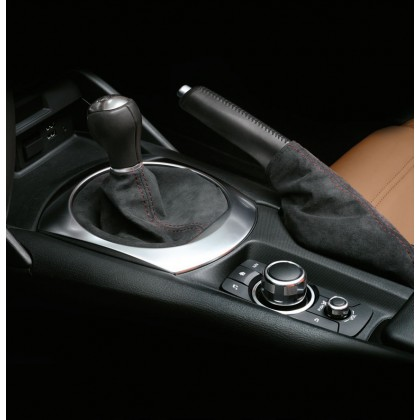 124 Spider Shift Gear Stick Cover for Automatic Transmission-Black