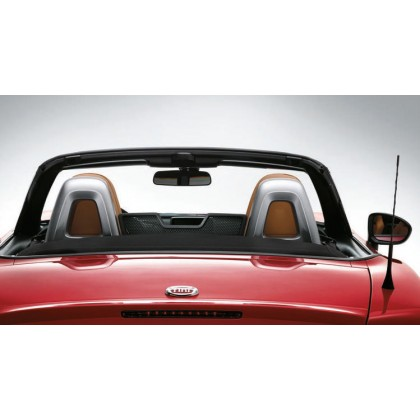 124 Spider Bar Cladding for Back Seats in Silver - Set of 2