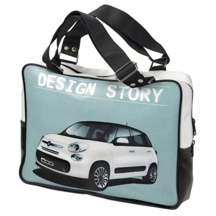 Fiat 500L Ancestor Story Satchel Laptop Bag Size: 37x28x7cm 50907538