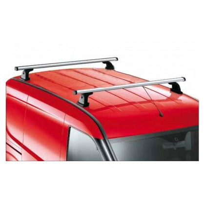 Doblo Steel Roof Bars x2 - For Roof Carrier - 100 kg capacity