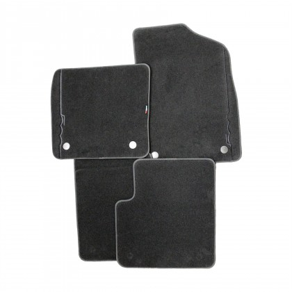 500 (Automatic) Carpet Floor Footwell Mats 2Pin Front/Rear