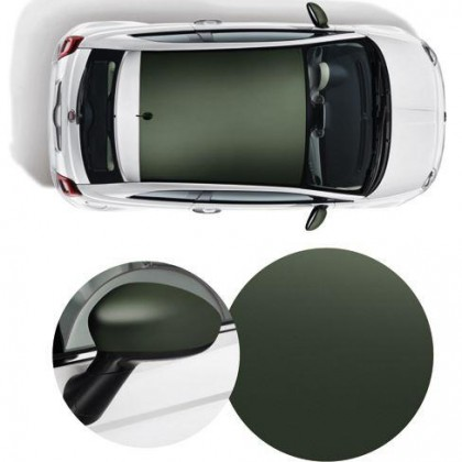 500 Wrapped Side Mirror Covers & Roof Graphics/Decal-Military Green