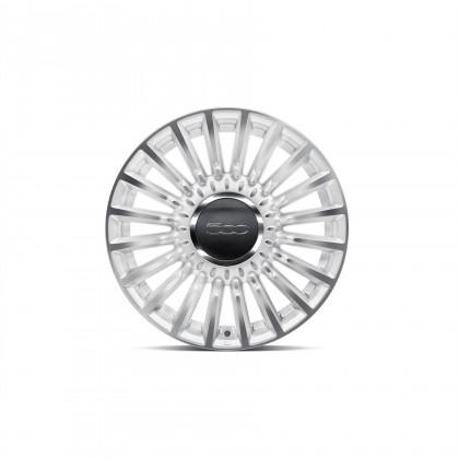"500 16"" Alloy Wheel Matt White [Single]"