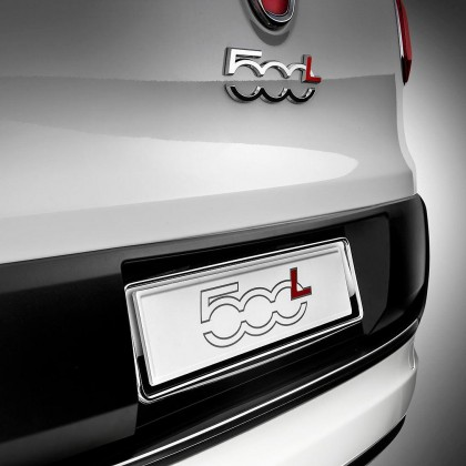 500|C|L - Trekking | 500L - Estate Chrome License Plate Holder