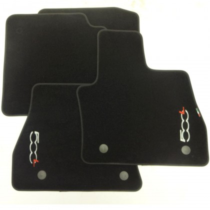 Genuine Official Fiat 500L (Automatic) Tailored Fitted Carpet Mats 2012-2015