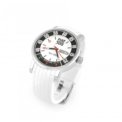 White Vintage 500 Quartz Watch