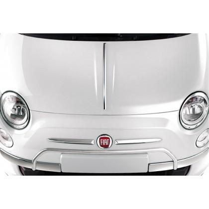 Fiat 500 Front Chrome Bumper Protection
