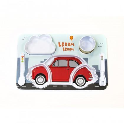 Fiat Kids Breakfast Set - Red