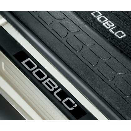 Doblo Door Sills Kit - Stylish Branded With Logo