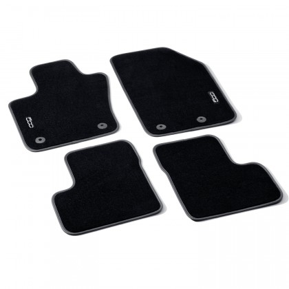 500X - City Look|500X - Off Road Looks Velour Carpet Mats With Logo