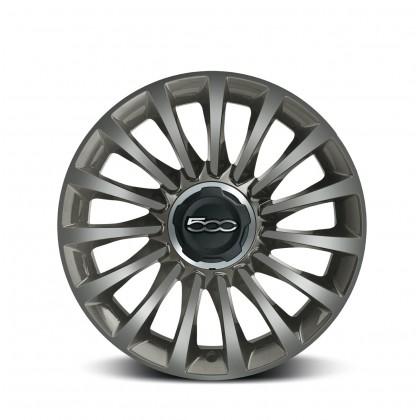 "500L|17"" Alloy Wheel Kit Diamond Design-Grey Ecoreflex - Set of 4"
