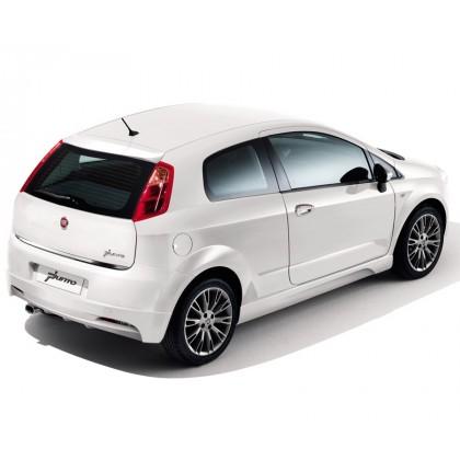 Punto 3 Door | Punto 5 Door Rear Bumper Sports Spoiler - Primed