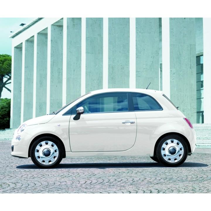 Genuine Fiat 500 500c Wheel Cover Chrome Kit 15 Quot Set