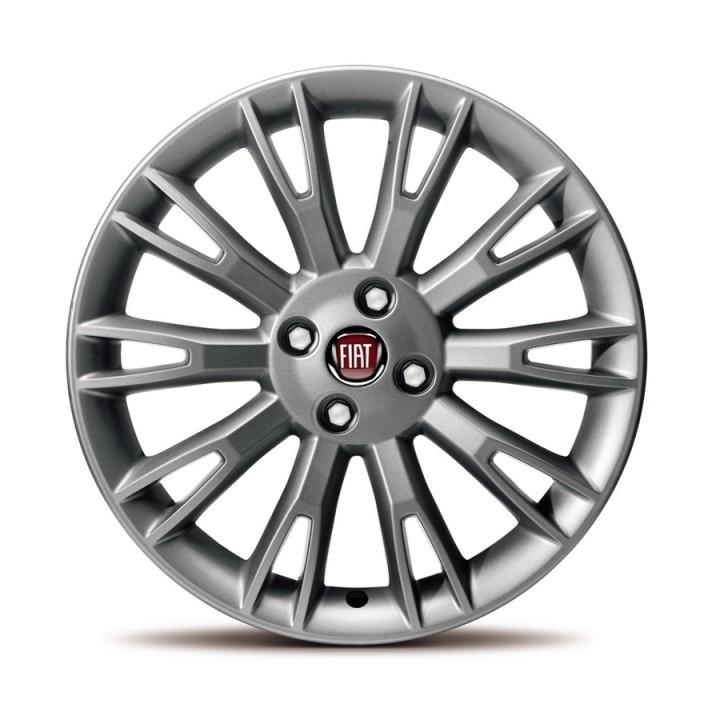 Fiat Punto 17 Quot 10 Double Fork Spoke Dark Alloy Wheels Set