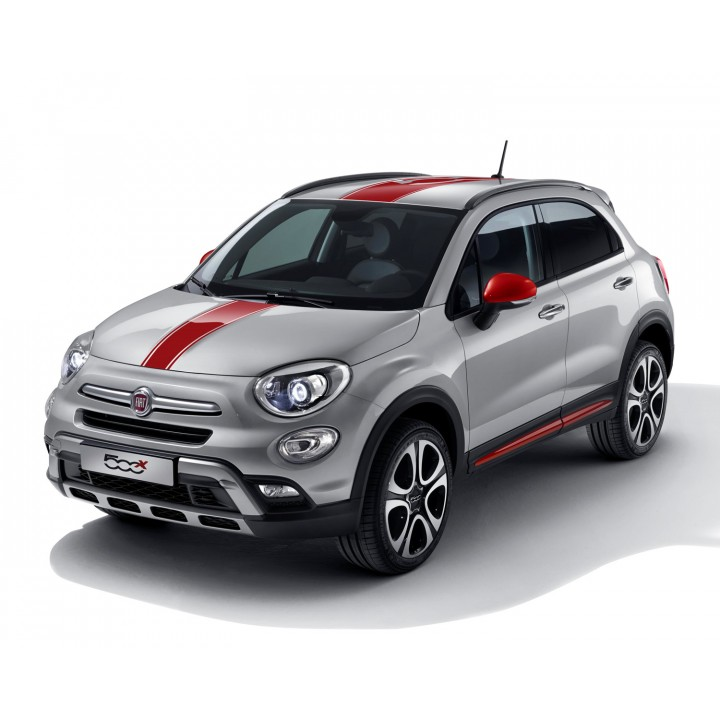 Genuine Fiat 500x Off Road Looks Mirror Covers Side