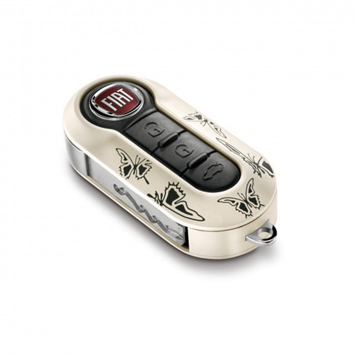 Fiat Key Covers Butterfly Twin Pack Official Fiat Uk Store