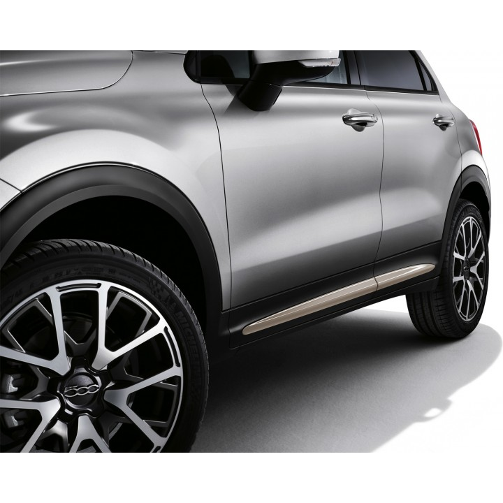 Genuine Fiat 500X Stylish Side Panel Moulding Finishing In