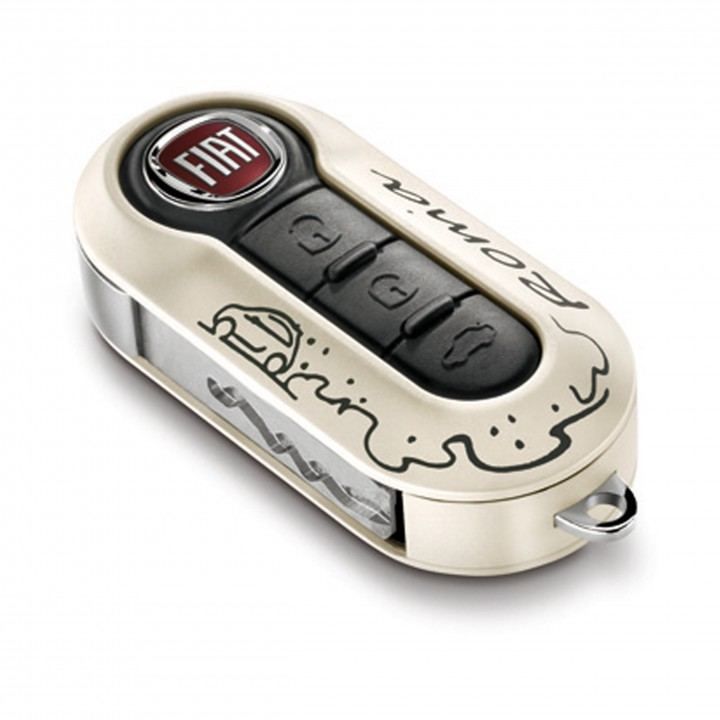 Fiat Key Covers - Rome Twin Pack