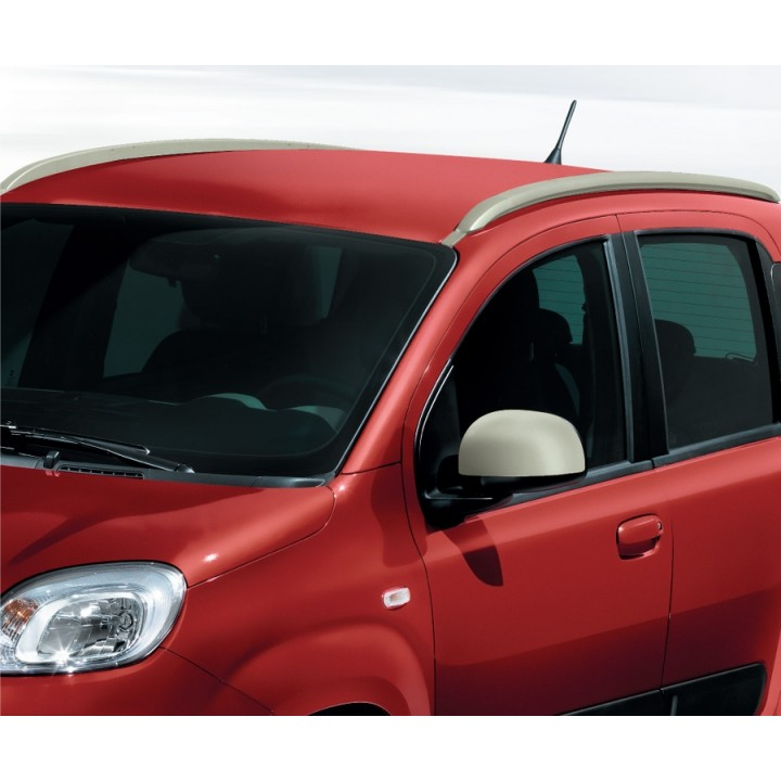 Genuine Fiat Panda Roof Mounted Longitudinal Bars Rails