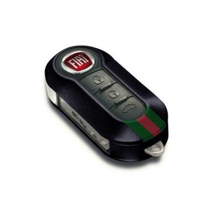 fiat 500 gucci key cover black official fiat uk store. Black Bedroom Furniture Sets. Home Design Ideas