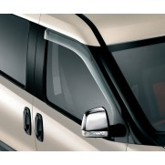 Doblo Front Wind Deflectors - Noise Reduction  [All Models]