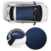 500 Wrapped Side Mirror Covers & Roof Graphics/Decal in Jeans