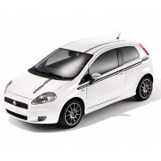 Fiat Punto High Race Track Stickers in Black, Red or White - 3 Door Models [Black | Red | White]