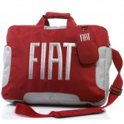 Fiat Red Satchel/Backpack Laptop Padded Carry Bag Size: 45x33x7cm