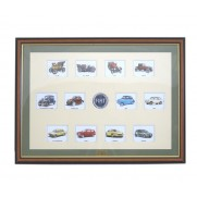 Fiat Centenary Car Framed Collection