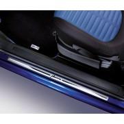 Fiat Grande Punto 5 Door Model - Kick Plates in Aluminium