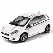 Punto Side Panel Adhesive Decals - Circuit Stripes/Lines-Black