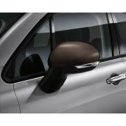 500X Side Mirror Covers/Replacement Caps - Matt Bronze - Set of 2