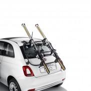 500 Tailgate Aluminum Bars & Rack Mounted Ski Carrier/Transport