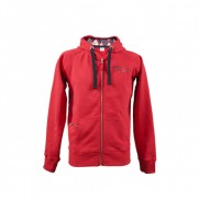 Red Women's 500 Hoodie Burlington Hood Size: L