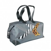 Fiat Grey Travel/Sports Bag 500X Chasing or Escaping Design 40x35x11cm