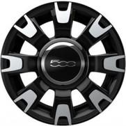 "Fiat 500 14"" Alloy Wheels Kit Diamond Cut"