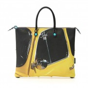 Fiat Capsule Collection Gabs Fiat 500 Side Profile Handbag/Shopper Bag