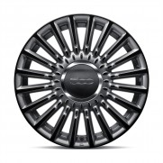 "500|16"" Alloy Wheel Kit Stylish in Matt Grey/Black - Set of 4"
