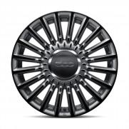 "500|16"" Alloy Wheel Kit Stylish in Matt Grey/Black - Set of 4"