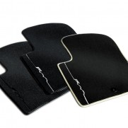 Fiat 500 Velour Carpet Mats - (2015 onwards) [Colour Options Available]