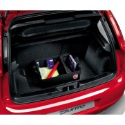 500L Cargo Luggage Compartment Bag Tote Box Organiser With Logo-Red