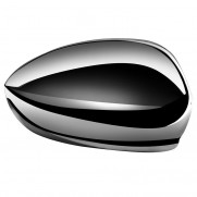 500 Side Mirror Covers - Chrome (Set of 2)