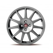 "Punto|17"" Alloy Wheel Kit 11 Double Spokes - Dark Silver - Set of 4"